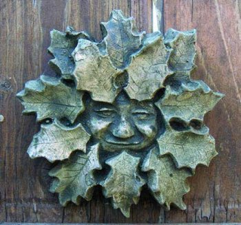 Holly Green Man