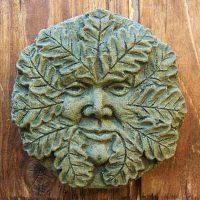 Oak Green Man small