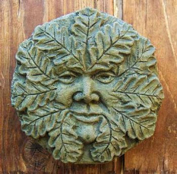 Oak Green Man small