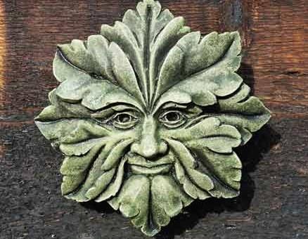 Suffolk Star Green Man small