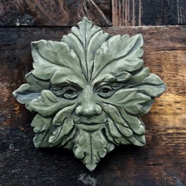 Suffolk Star Green Man (medium)