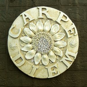 Carpe Diem Plaque