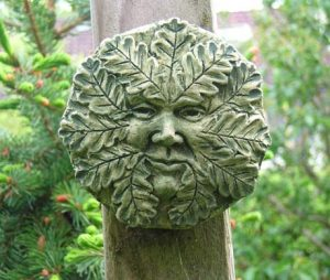 Oak Green Man (small)