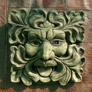 Green Man Fountain