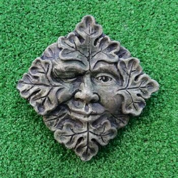 Winking Green Man