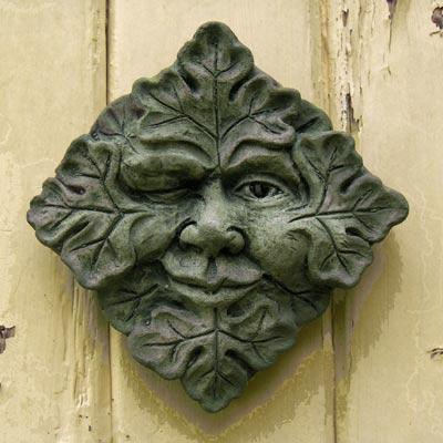 Winking Green Man (small)