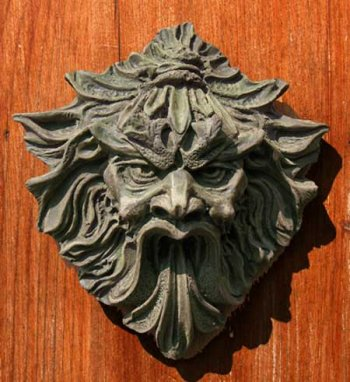 Fierce Green Man