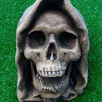 """""""Ringwraith"""" Hooded Skull Gargoyle"""
