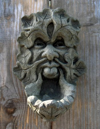 Green Man Sconce