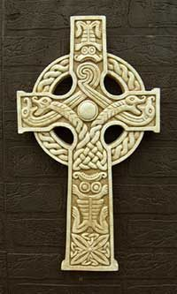 Celtic Cross Zoomorphic