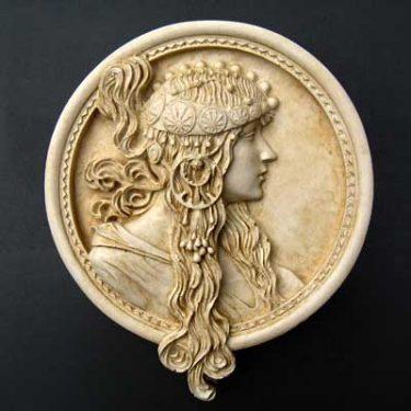 Byzantine Portrait: Brunettete