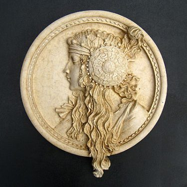 Byzantine Portrait Blonde
