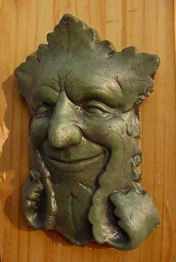 Winker Green Man