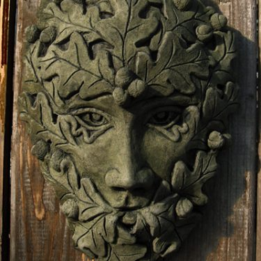 Oak Oval Green Man