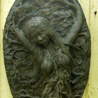 Green Goddess Plaque