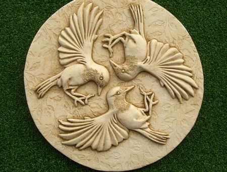 Three Birds Plaque