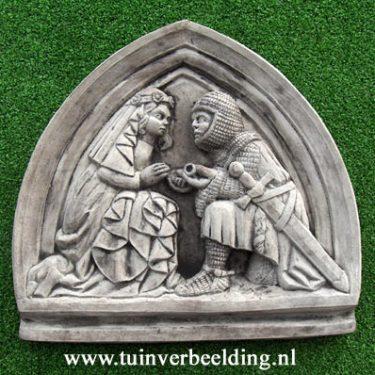 Lancelot & Guinevere Plaque
