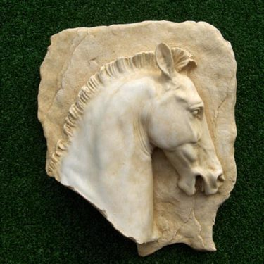 Parthenon Horse Head Plaque (left)2