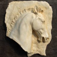 Parthenon Horse Head Plaque