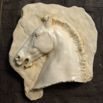 Parthenon Horse Head Plaque (right)