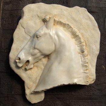 Parthenon Horse Head Plaque (right)