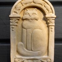Cat Plaque
