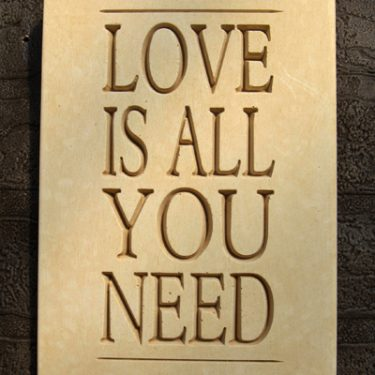 Love is All Plaque