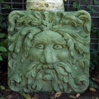 Green Man Large Plaque