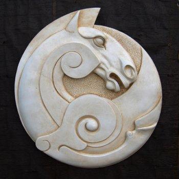 Celtic Horse Plaque