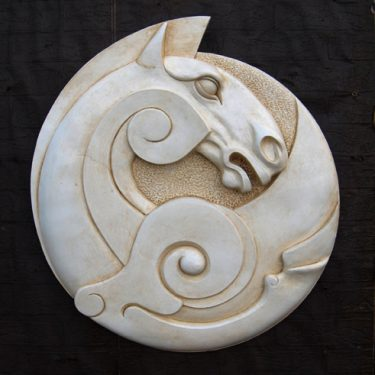 Celtic Horse Plaque