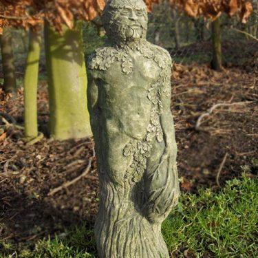 Green Man Standing