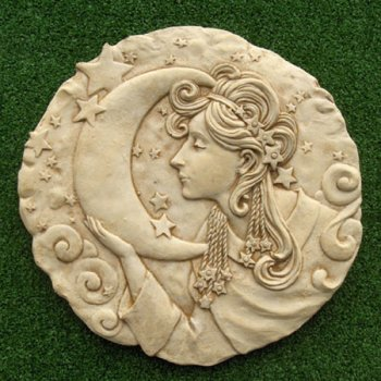 Moon Lady Plaque