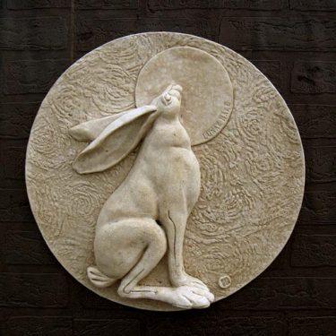 Lunar Hare Plaque