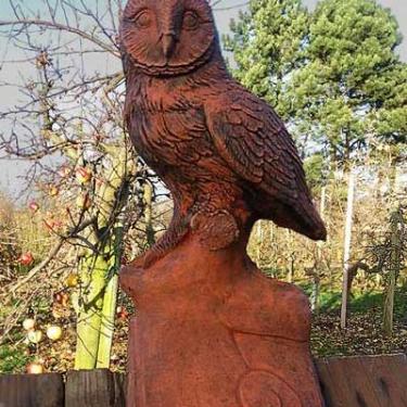 """Owl Ridgetile """"V"""" tile"""