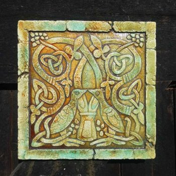 Celtic Bird Plaque (limited edition)