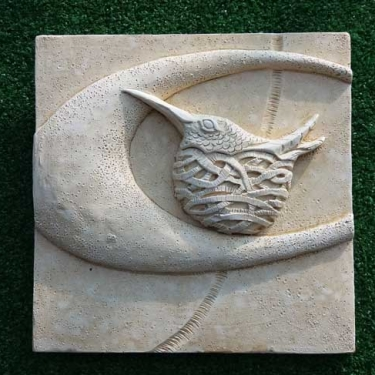 "Louise Scott ""Hummingbird"" Plaque"