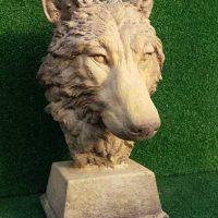 Wolf Head Bust