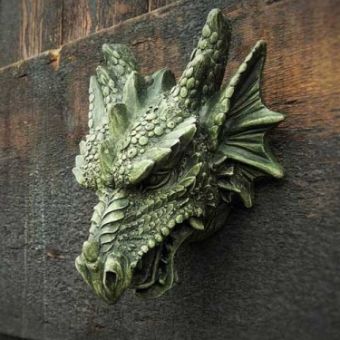 Fierce Dragon Head