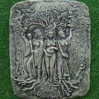 Three Goddess Plaque