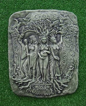 Three Goddess Plaque