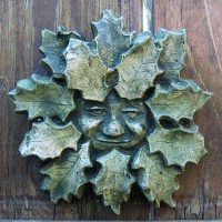 Holly Green Man (small)