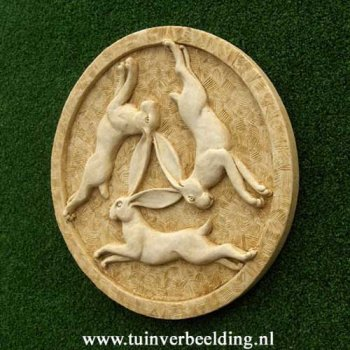 Three Hares Roundel (medium)