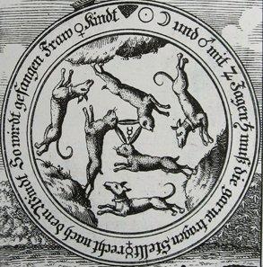 3 Hares Symbol