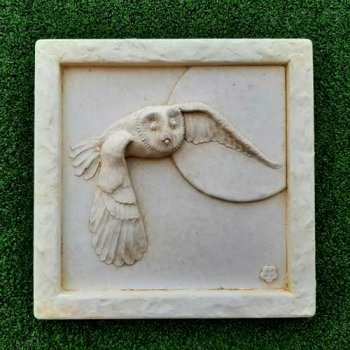 Owl & Moon Plaque